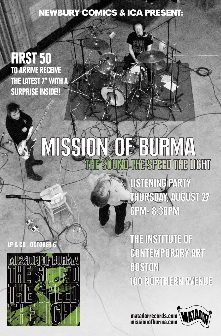 "9cc4adf899d Burma Listening Party With Suspicious ""Surprise"" Item"
