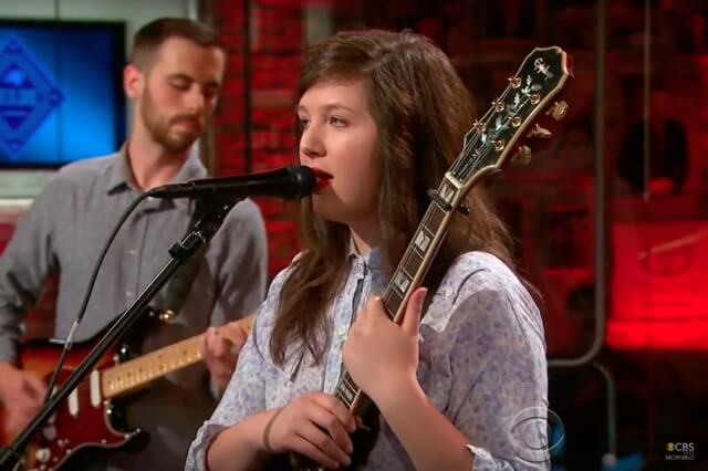 Watch (please) : Lucy Dacus Performing On CBS This Morning's