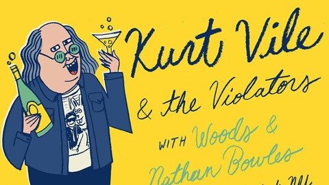 KURT VILE & THE VIOLATORS TO CAP OFF 2016 WITH SHOWS IN NYC, BOSTON AND PHILLY