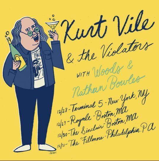 Kurt Vile poster