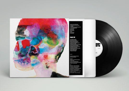 Vinyl Record MockUpA white sleeve