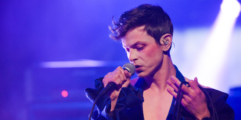 "Perfume Genius – ""Slip Away"" on CBS' ""The Late Show with Stephen Colbert"""