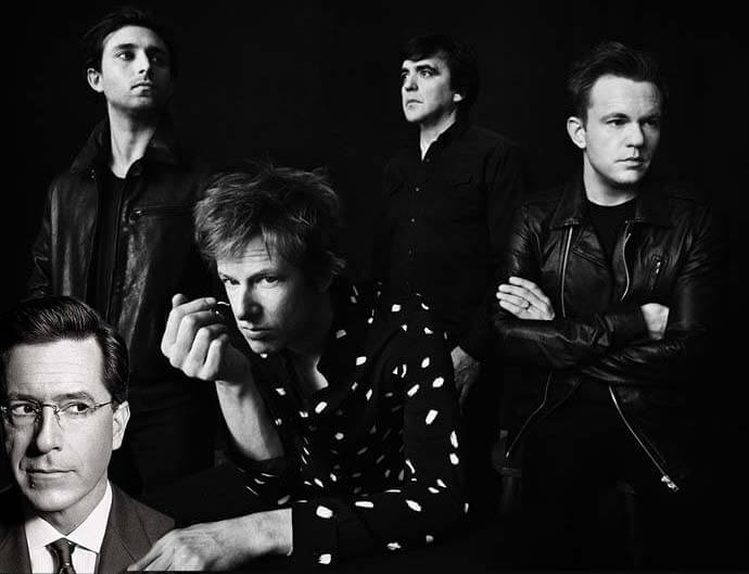 "Tonight : Spoon On CBS' ""The Late Show With Stephen Colbert"""