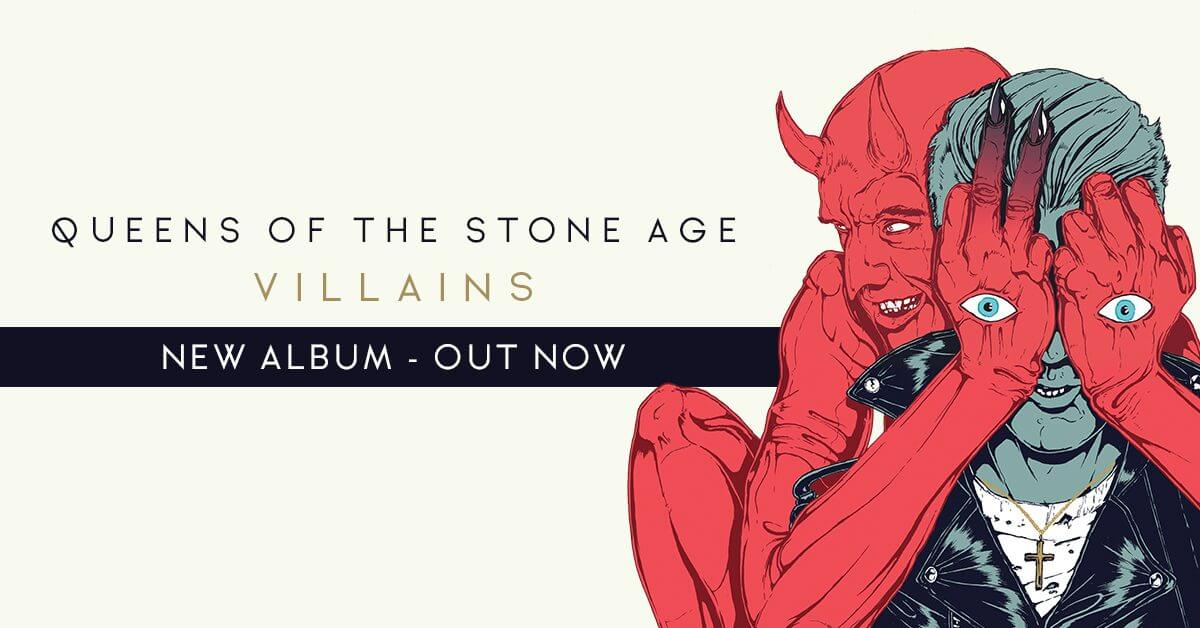 OUT TODAY – Queens of the Stone Age 'Villains' (Stream Now on Apple Music, Pick Up at Your Local Indie)