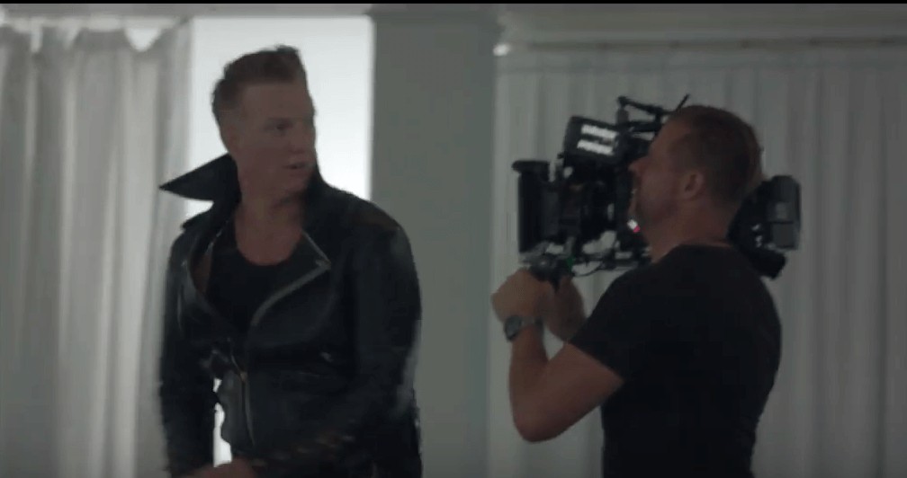"Behind The Scenes Of Queens of the Stone Age's ""The Way You Used To Do"" Video"