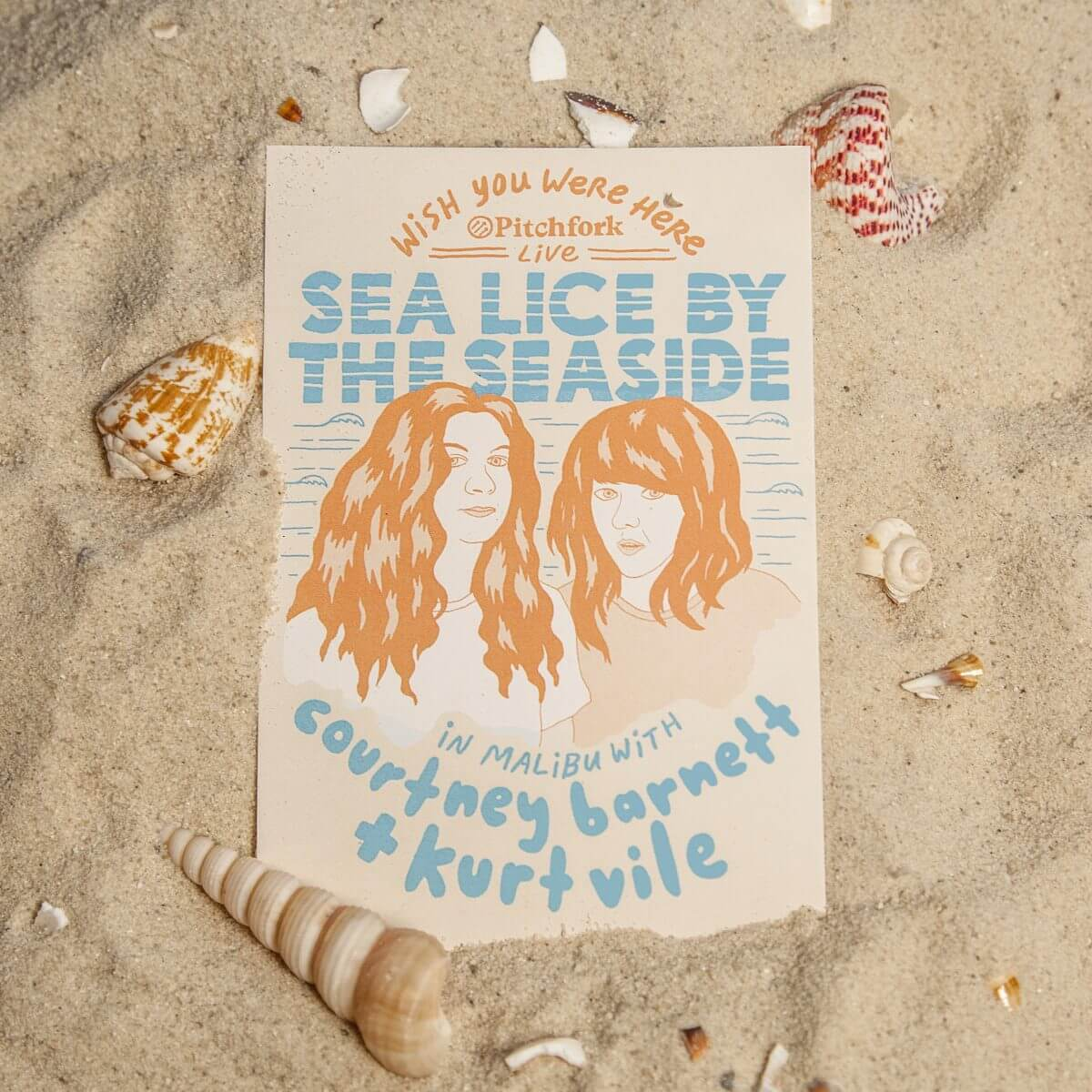 "Today: Courtney Barnett & Kurt Vile – ""Sea Lice By The Seaside"""