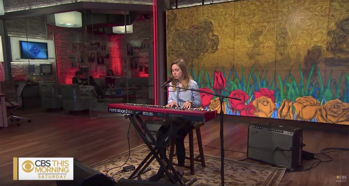 VIDEO :  Julien Baker – Live on CBS This Morning
