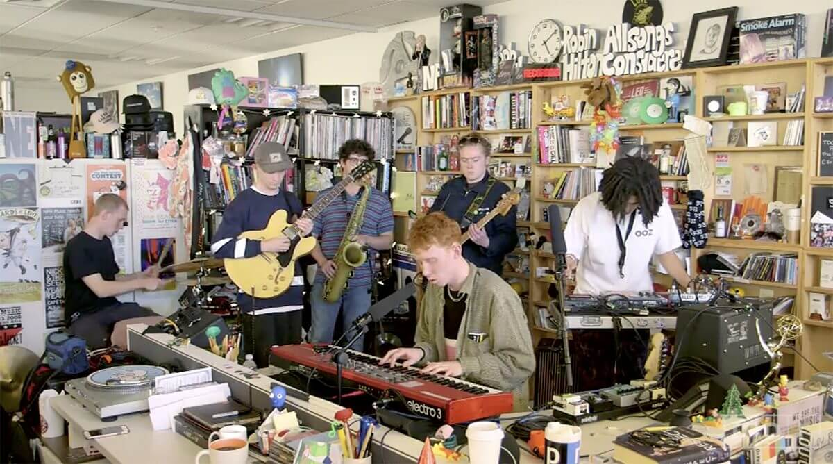 King Krule – Tiny Desk Concert