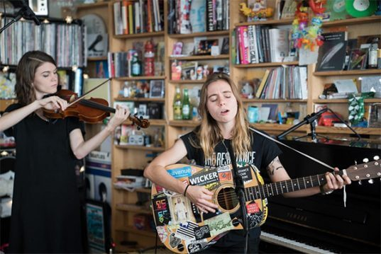 Julien Baker First Performed At NPRs Tiny Desk Concert In Early 2016 Several Months After The Release Of Her Debut Album Sprained Ankle
