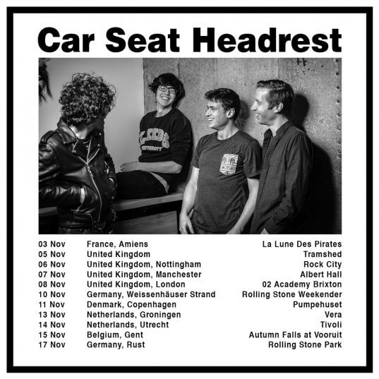 Car Seat Headrest Announce UK EU November Dates