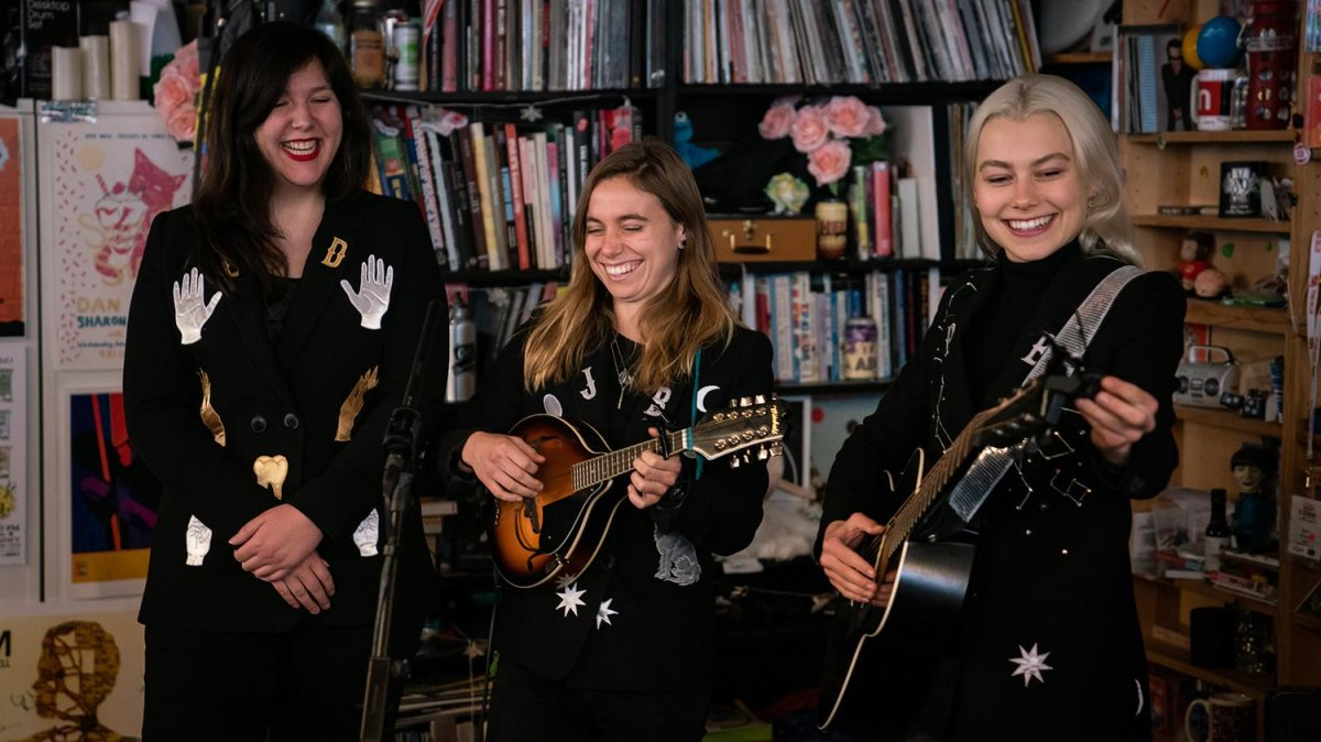 boygenius – Tiny Desk Concert