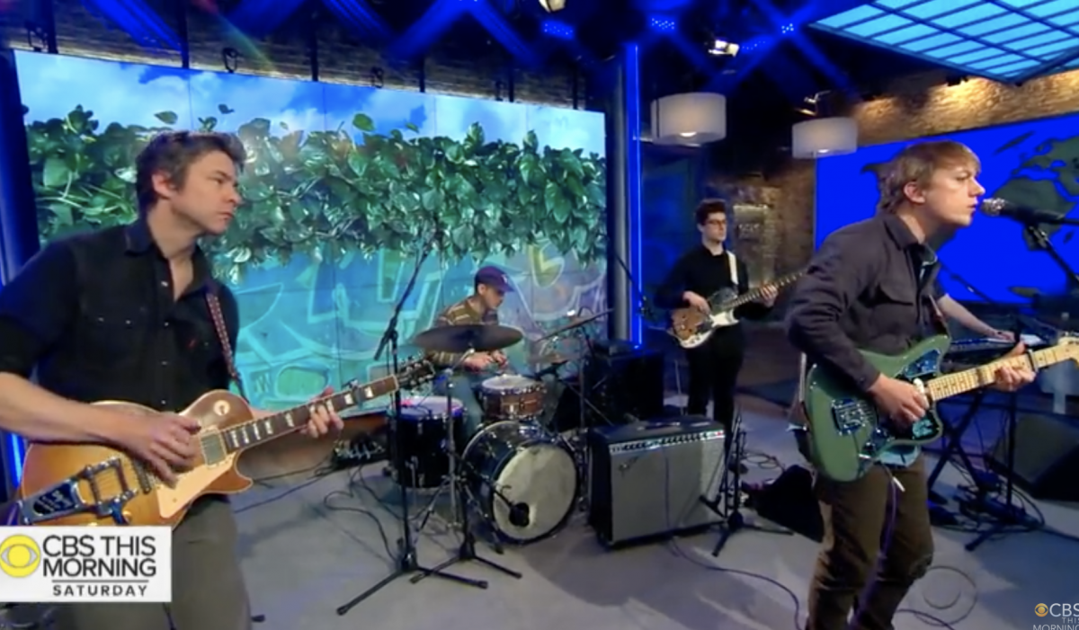"VIDEO : Steve Gunn – ""Vagabond"", From ""CBS This Morning (The Saturday Sessions)"""