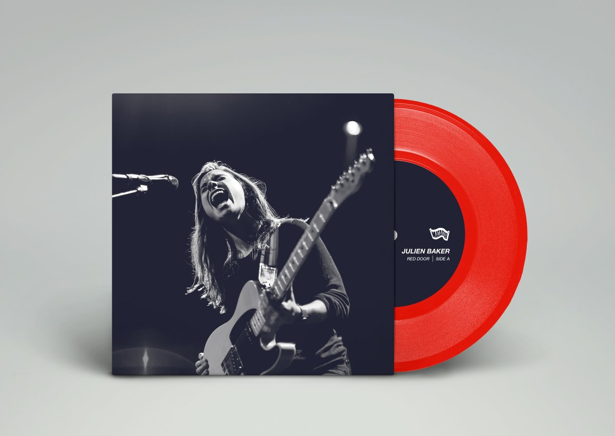 "Julien Baker – ""Red Door"" b/w ""Conversation Piece"" Record Store Day 7″"