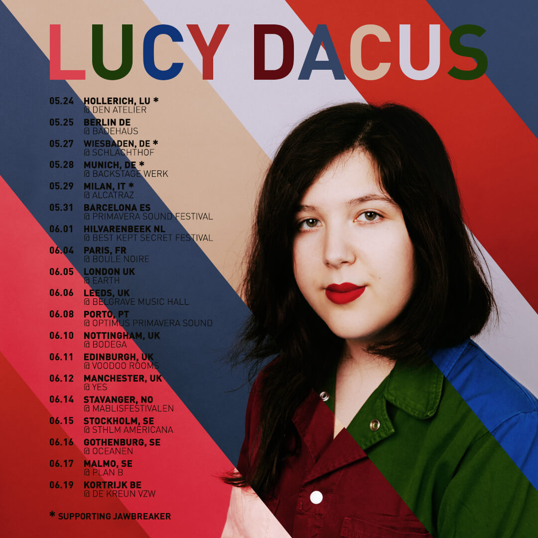 Lucy Dacus – Spring '19 European Tour Announcement