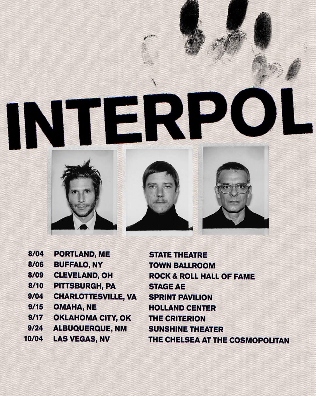 Interpol – Additional North American 2019 Dates