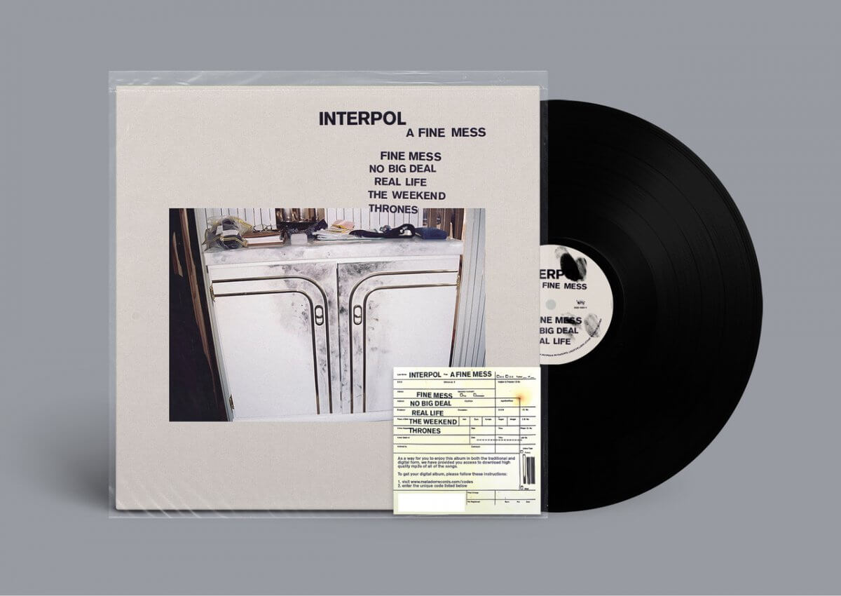Out Today : INTERPOL  – 'A Fine Mess'