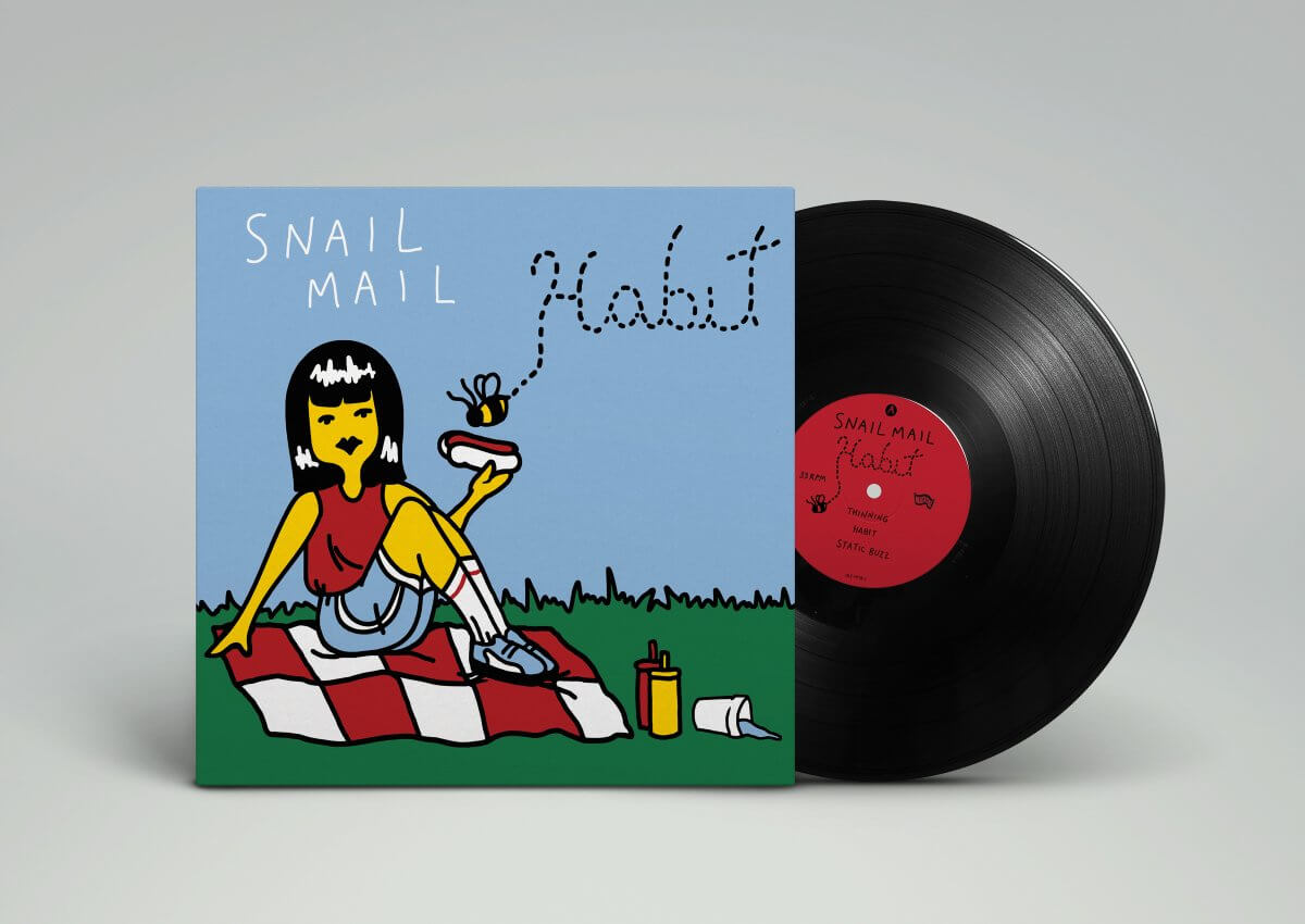 OUT TODAY : Snail Mail – 'Habit' reissue