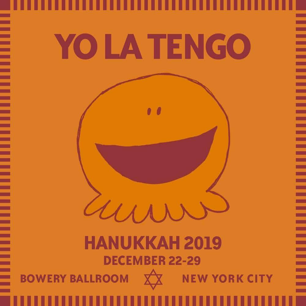 Yo La Tengo   – Hanukkah 2019 At The Bowery Ballroom