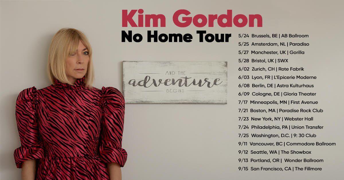 Kim Gordon – Solo Touring 2020